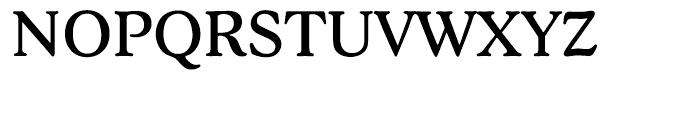 EF Stratford Regular Font UPPERCASE