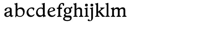 EF Stratford Regular Font LOWERCASE