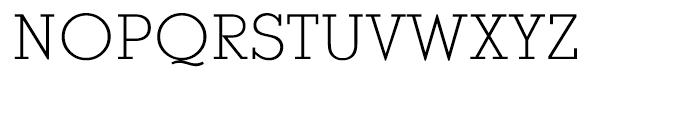 EF Stymie Light Font UPPERCASE