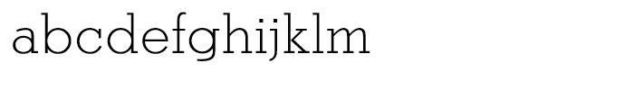 EF Stymie Light Font LOWERCASE