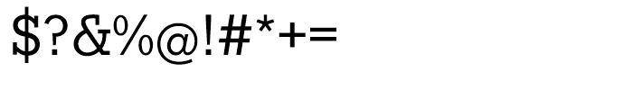 EF Stymie Medium Font OTHER CHARS