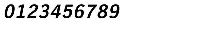 EF TV Nord CE Bold Oblique Font OTHER CHARS