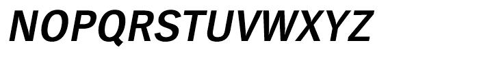 EF TV Nord CE Bold Oblique Font UPPERCASE