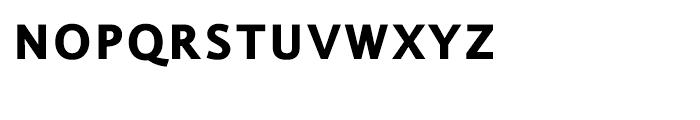 EF Thordis Sans Bold SC Font LOWERCASE