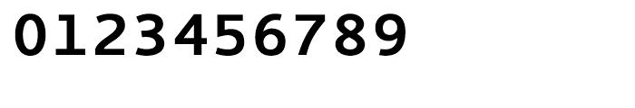 EF Thordis Sans Mono CE Bold Font OTHER CHARS