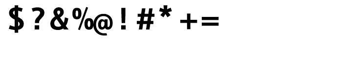 EF Thordis Sans Mono T Bold Font OTHER CHARS