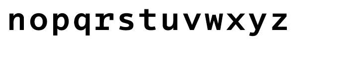 EF Thordis Sans Mono T Bold Font LOWERCASE