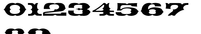 EF Thunderbird Turkish Regular Font OTHER CHARS