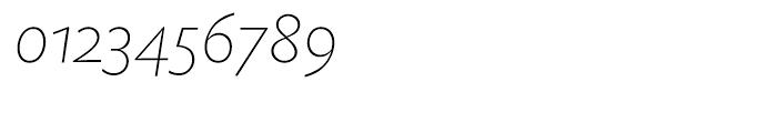EF Today Sans Serif B Extra Light Italic SC Font OTHER CHARS
