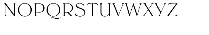 EF Trieste Light Font UPPERCASE
