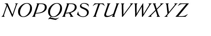 EF Trieste Medium Italic Font UPPERCASE