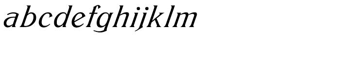 EF Trieste Medium Italic Font LOWERCASE