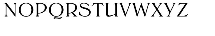 EF Trieste Medium Font UPPERCASE