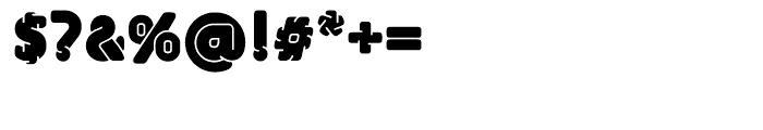 EF UniFontFat Black Font OTHER CHARS