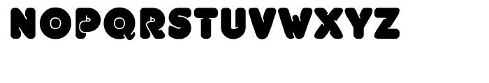 EF UniFontFat Black Font UPPERCASE