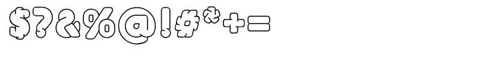 EF UniFontFat White Font OTHER CHARS