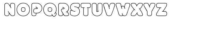 EF UniFontFat White Font UPPERCASE