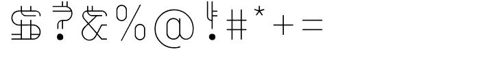 EF Varbur Regular Font OTHER CHARS