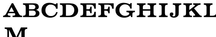 EF Volta Medium Font UPPERCASE