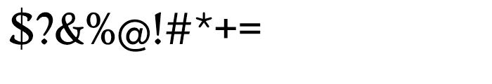 EF Worchester Medium Font OTHER CHARS