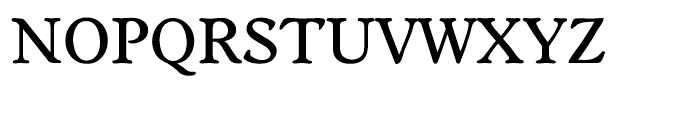 EF Worchester Medium Font UPPERCASE