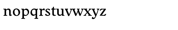 EF Worchester Medium Font LOWERCASE
