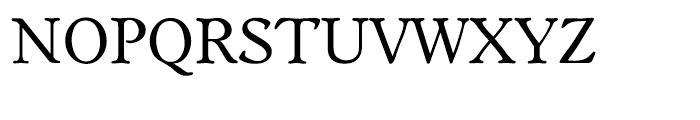 EF Worchester Regular Font UPPERCASE