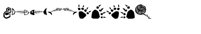 EFQuadruPets Cats Font OTHER CHARS
