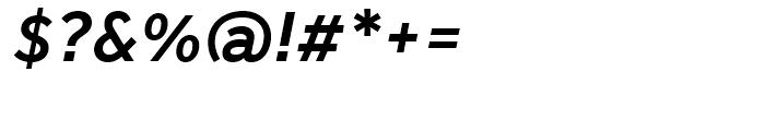 Effra Medium Italic Font OTHER CHARS