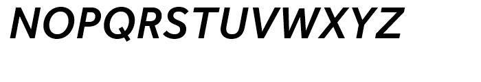 Effra Medium Italic Font UPPERCASE