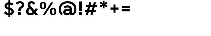 Effra Medium Font OTHER CHARS
