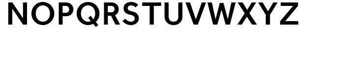 Effra Medium Font UPPERCASE