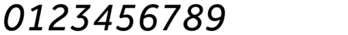 Effra Italic Font OTHER CHARS