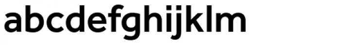 Effra Medium Font LOWERCASE