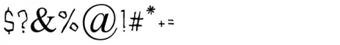 Efroni MF Medium Font OTHER CHARS