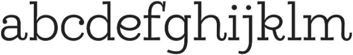 Egalite Light otf (300) Font LOWERCASE