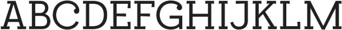 Egalite otf (400) Font UPPERCASE