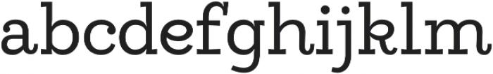Egalite otf (400) Font LOWERCASE