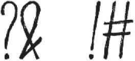 EggplantNew otf (400) Font OTHER CHARS