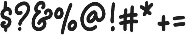 Egilyta otf (400) Font OTHER CHARS