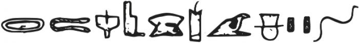 Egyp Regular ttf (400) Font OTHER CHARS