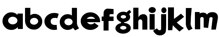 EgNew Thick 2 Font LOWERCASE