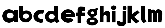 EgNew Thick Font LOWERCASE