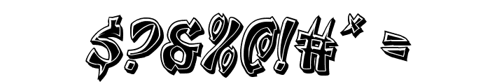 Egg Roll Bevel Italic Font OTHER CHARS