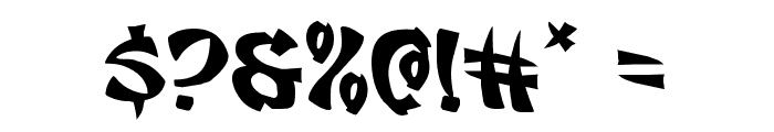 Egg Roll Expanded Font OTHER CHARS