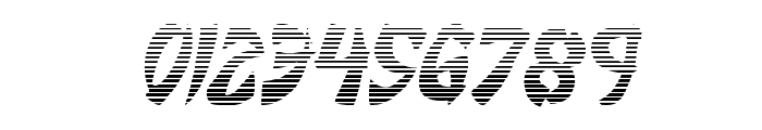 Egg Roll Gradient Italic Font OTHER CHARS