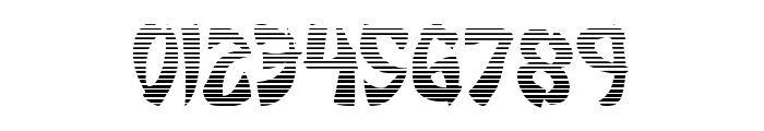 Egg Roll Gradient Font OTHER CHARS