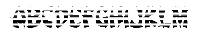 Egg Roll Gradient Font UPPERCASE