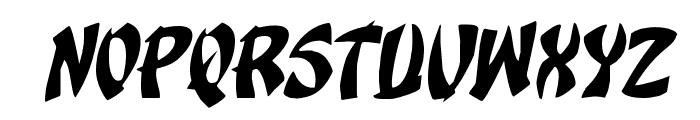 Egg Roll Rotalic Font UPPERCASE