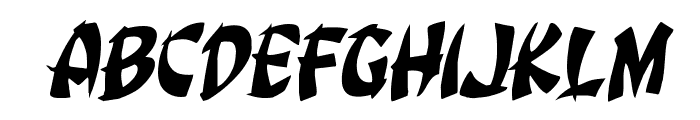 Egg Roll Rotalic Font LOWERCASE